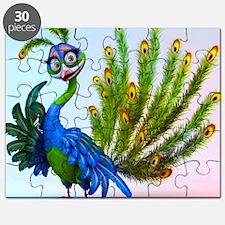 Prissy Peacock Puzzle