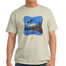 Eagle and Weasel T-Shirt