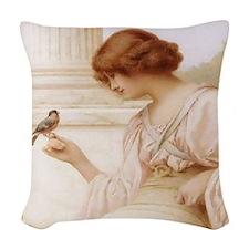 Captive's Return Woven Throw Pillow