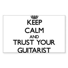 Keep Calm and Trust Your Guitarist Decal