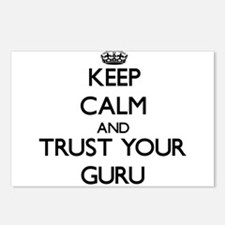 Keep Calm and Trust Your Guru Postcards (Package o
