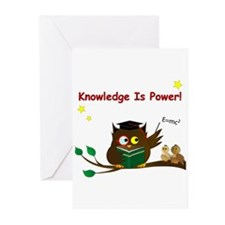 Teacher Wise Owl Greeting Cards (pk Of 20)