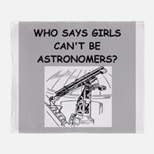 astronomy Throw Blanket