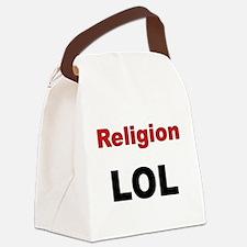 Religion LOL Canvas Lunch Bag