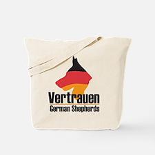 Vertrauen Logo Tote Bag