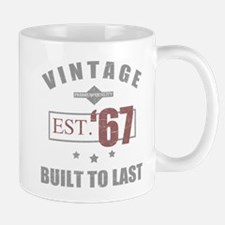 Vintage 1967 Birth Year Mugs