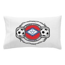 Arkansas Soccer Pillow Case