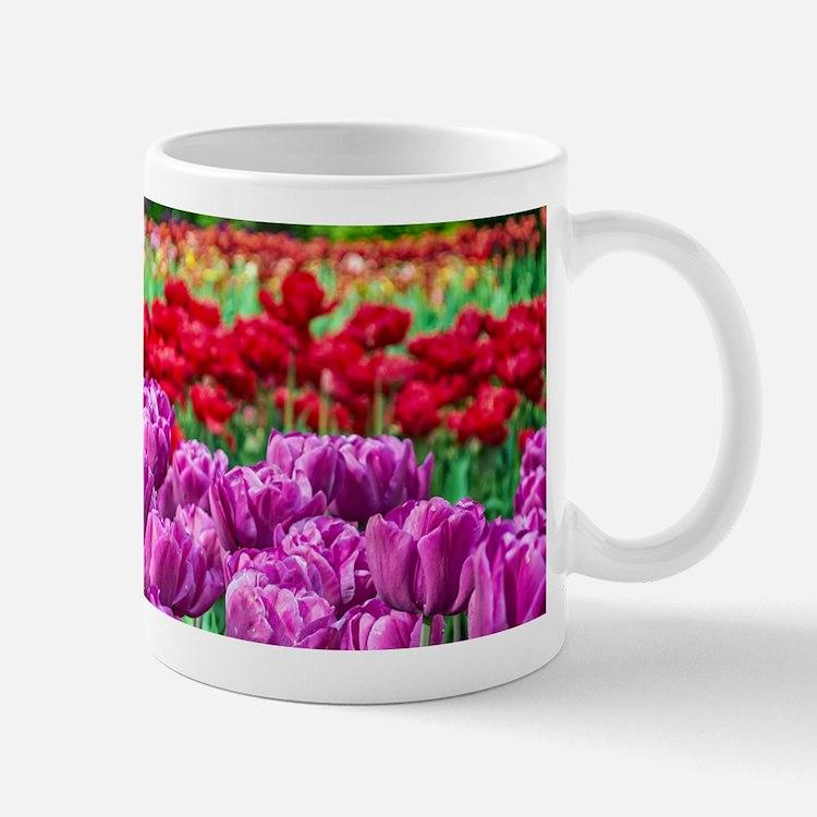 Tulip Field Mugs