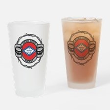 Arkansas Hockey Drinking Glass