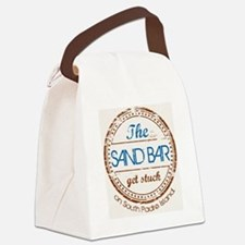 The Sand Bar-South Padre Island,  Canvas Lunch Bag