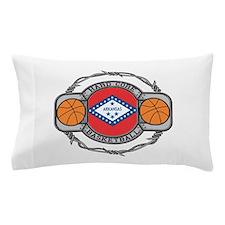 Arkansas Basketball Pillow Case