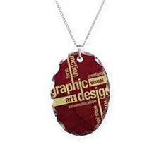 Graphic Design Necklace
