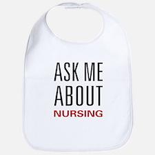 Ask Me Nursing Bib