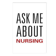 Ask Me Nursing Postcards (Package of 8)