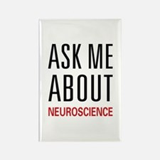 Ask Me Neuroscience Rectangle Magnet