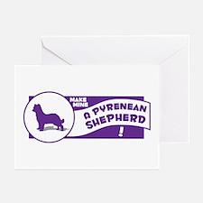 Make Mine Pyrenean Greeting Cards (Pk of 10)