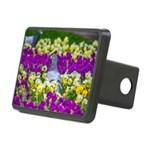 Pigeon and Pansies Hitch Cover