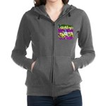 Pigeon and Pansies Women's Zip Hoodie