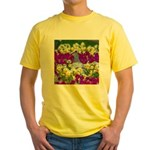 Pigeon and Pansies T-Shirt