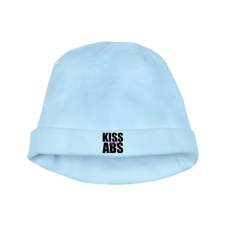 Kiss My Abs baby hat