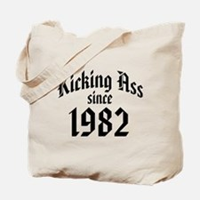 Kicking Ass 1982 Tote Bag