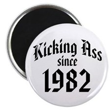"Kicking Ass 1982 2.25"" Magnet (10 pack)"