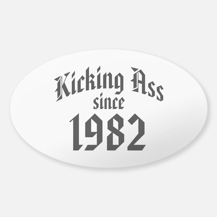 Kicking Ass 1982 Decal