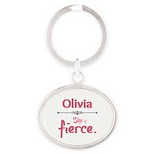 Personal - She Is Fierce Keychains