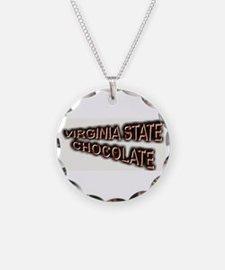 VIRGINIA STATE CHOCOLATE Necklace
