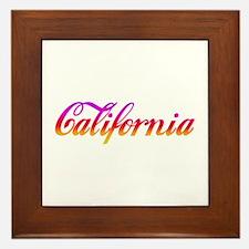 California Sunset Framed Tile