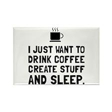 Coffee Create Sleep Magnets