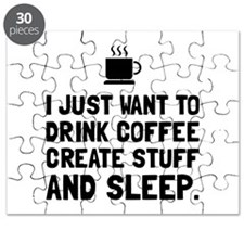 Coffee Create Sleep Puzzle