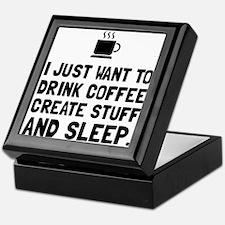 Coffee Create Sleep Keepsake Box