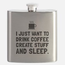 Coffee Create Sleep Flask