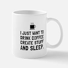 Coffee Create Sleep Mugs