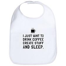 Coffee Create Sleep Bib