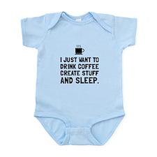 Coffee Create Sleep Body Suit