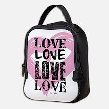 Love Neoprene Lunch Bag
