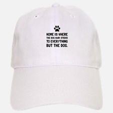 Dog Hair Sticks Baseball Baseball Baseball Cap