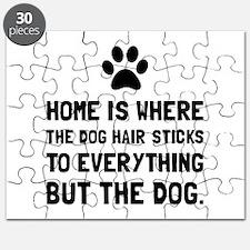 Dog Hair Sticks Puzzle