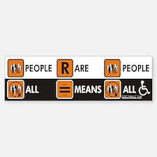 People Are People Bumper Bumper Bumper Sticker