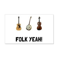 Folk Yeah Wall Decal
