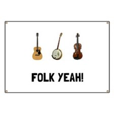 Folk Yeah Banner
