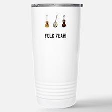 Folk Yeah Travel Mug