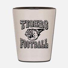 Tigers Football Shot Glass