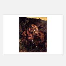 La Belle Dame Sans Merci Postcards (Package of 8)