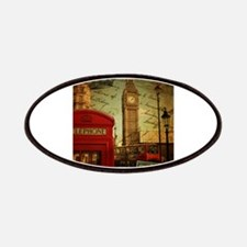 london landmark red telephone booth Patches