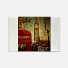 london landmark red telephone booth Magnets