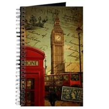 london landmark red telephone booth Journal