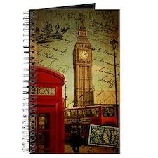london landmark red telephone booth Journal